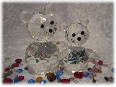 Swarovski Crystal Sale includes Swarovski Giant Bear